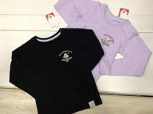 Embroidery Long-sleeved T-shirt