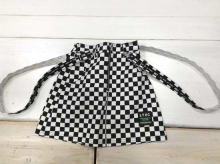 Decorative zipper Twill skirt (with Suspenders and Inner pants)